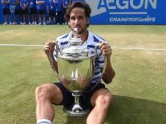 Enorme victoria de Feliciano López en el torneo de Queen's