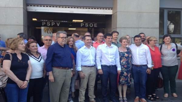 Ximo Puig i Rafa García, candidats oficials a la Secretaria General del PSPV