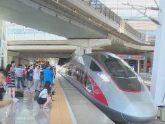 'Fuxing', el nuevo tren bala chino que viaja a 400 km/h