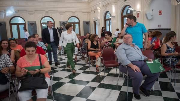 Presentación de ayudas para rehabilitación de casas de mayores y discapacitados