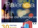 Cartel de la Showpping Night de Palencia 2017