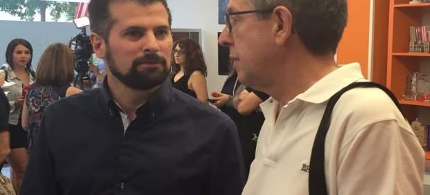 Valladolid: Tudanca (I) con Jorge F. Alonso (D)