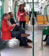 Metro de Granada en pruebas