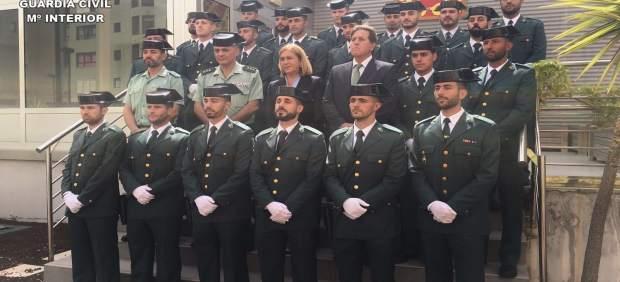 La Comandancia de la Guardia Civil en Las Palmas incorpora 43 guardias alumnos