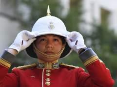 Una militar canadiense, la primera mujer en liderar la Guardia Real Británica