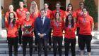Rajoy recibe a las campeonas del Eurobasket