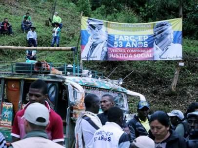 Entrega de armas de las FARC en Colombia