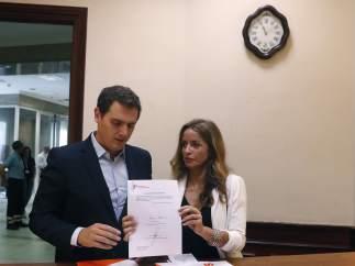 Albert Rivera, Patricia Reyes, gestación subrogada