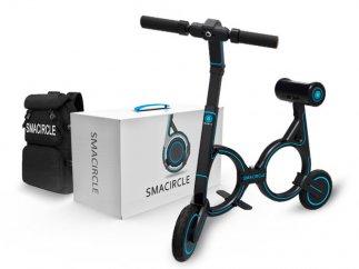 Smacircle S1, una 'bici' eléctrica que se guarda en una mochila
