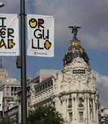 Carteles en Madrid por el World Pride, Orgullo Mundial