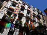 Balcones de Madrid por el World Pride 2017