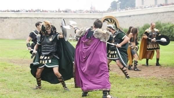 Fiestas de Carthagineses y Romanos de Cartagena (Murcia)