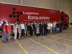Ceniceros visita empresa Logística Ezquerro