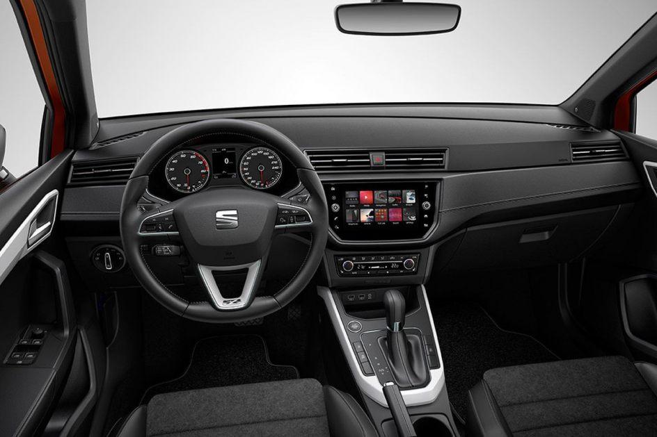 Interior del SEAT Arona