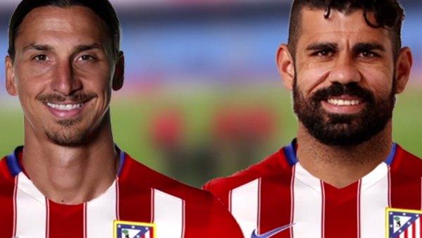Ibrahimovic y Diego Costa, el sueño de Simeone
