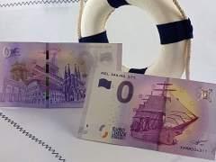 Alemania pone a la venta billetes de cero euros