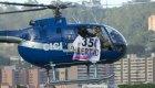 Roba un helicóptero y realiza disparos en Venezuela