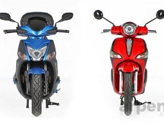 Kymco Agility City 125 vs. Piaggio New Liberty 125: bajo consumo contra bajo precio