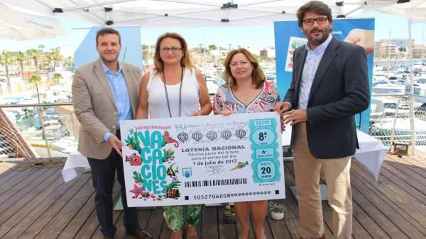 Presentación del sorteo Extraordinario de vacaciones  de la Lotería Nacional
