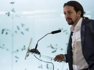 """Iglesias, sobre Blesa: """"Es triste, pero mi recuerdo está también con las víctimas de desahucios"""""""