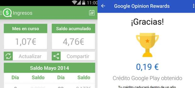 Apps que te pagan dinero