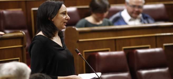 Carolina Bescansa en el Congreso