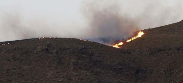 Incendio Cabo de Gata, Níjar