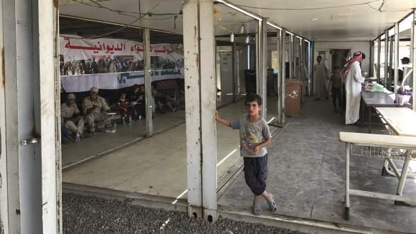 Niño, Mosul, Irak