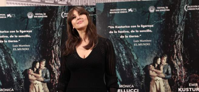 Photocall con Mónica Bellucci por la película 'En la vía láctea'