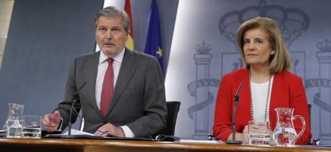 Íñigo Méndez de Vigo y Fátima Bañez