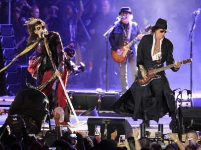 Concierto de Aerosmith en Rivas Vaciamadrid