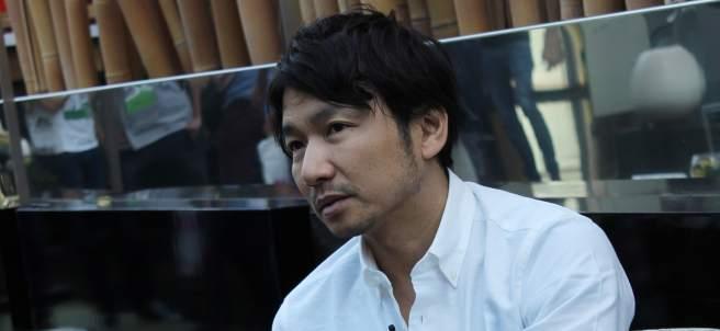 El creador japonés de videojuegos Fumito Ueda.