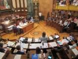 Pleno Municipal Del Ayuntamiento De Barcelona.