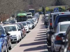 Dos accidentes complican el tráfico en salidas de Madrid por la A-6 y la A-1