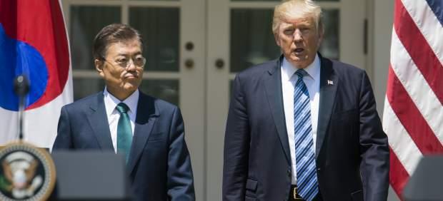 Trump y Jae-in