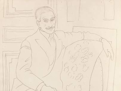 Retrato de Paul Rosenberg, 1918-1919
