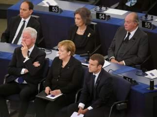 Ceremonia de despedida de Helmut Kohl