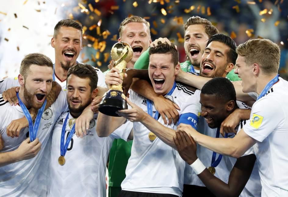 Alemania gana la Copa Confederaciones