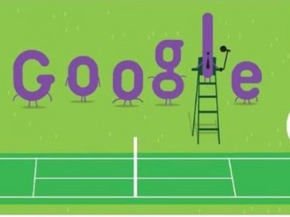 Doodle dedicado a Wimbledon