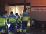 Herido grave un trabajador en Madrid