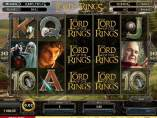 'Lord of the Rings: Online Slot Game'