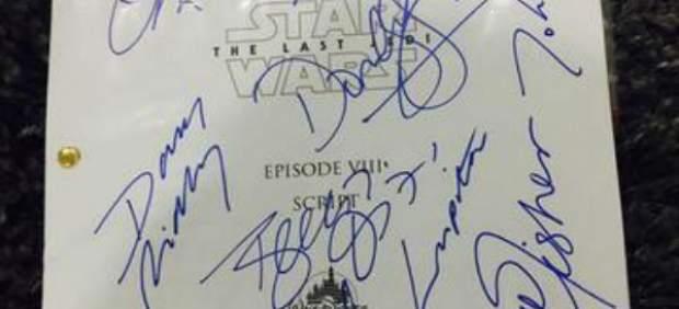 Guion de 'Star Wars: Los últimos Jedi'