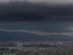 El monzón se cierne sobre Katmandú
