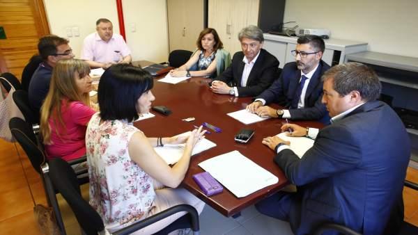 El grupo de trabajo Estudio Doing Business Aragón