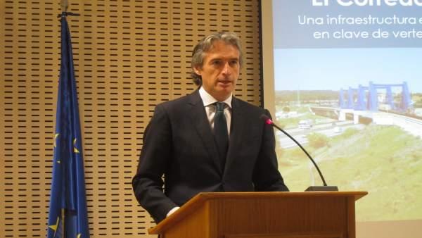 De la Serna anuncia l'inici de la construcció del doble ample internacional entre València i Castelló en 2019