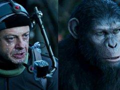 Andy Serkis es el simio César