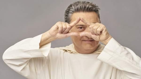 El actor onubense Mariano Peña protagoniza 'Obra de Dios'.