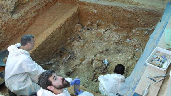 Hallan al menos 12 cuerpos en la fosa 113 del Cementerio de Paterna