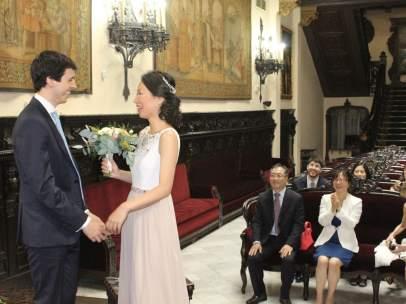 Primera boda ante notario en Valencia