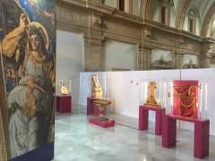 Exposició d'instruments dels àngels músics en San Miguel dels Reis